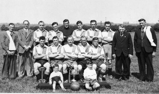 Chatteris Town Football Club 1948-49.