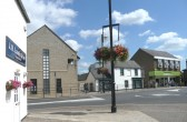 Chatteris High Street Library, Antique shop & Budgens from position of 1932 Hospital Sunday photo.