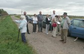 Chatteris Museum Society visit Woodwalton nature reserve.