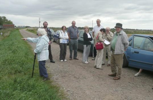 Chatteris Museum Society visit Woodwalton nature reserve.