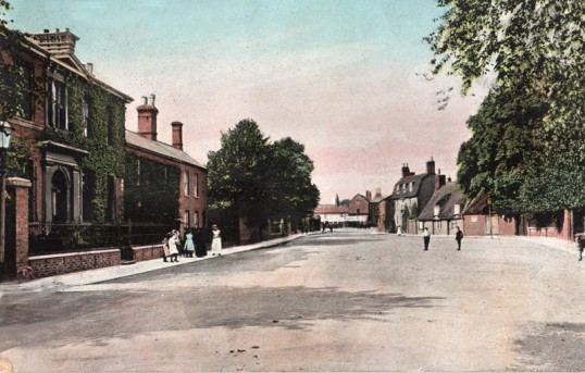Park Street, Chatteris prior to Empress cinema. From postcard dated 1905 submitted for R Heading.