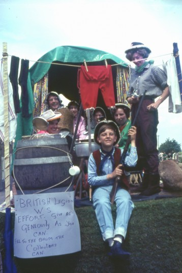 British Legion float at Chatteris Hospital Saturday event. Photo from Maurice Kidd collection.