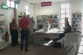 """""""At home"""" with Chatteris ccan group in the library."""