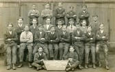 "Engineer apprentices at Chatteris Engineers plant, Honeysome Road. Uploaded for Mrs Watkinson at ccan ""At home"" presentation."