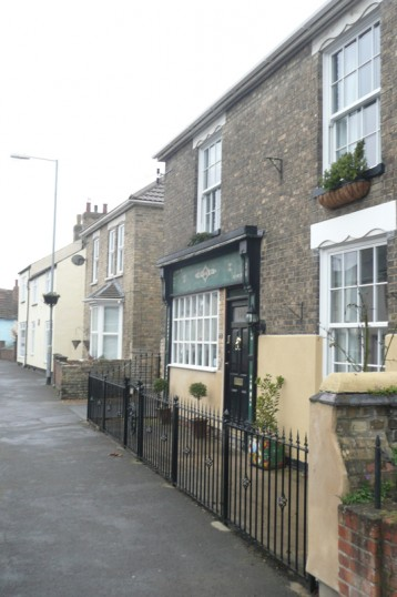 140 High Street, Chatteris. Once site of C Gray butchers. See also 1965-85 photo. Bill Cooke