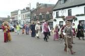 Chatteris Historic Festival Walking Parade.