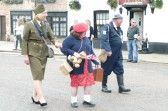 """""""Warden"""" Mayor of Chatteris Peter Murphy  leads the Historic Festival parade."""