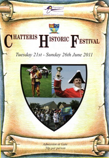 Progamme cover for the Chatteris Historic Festival week events.