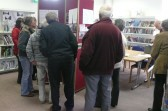 """Chatteris ccan group quarterly  """"At home"""" raises interest in the library"""