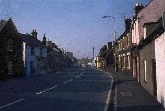 High Street, Chatteris, towards Slade End. Photo supplied by R Edwards.