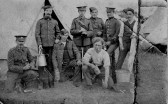 Photo owned by George Clare VC of Chatteris. Possibly him on the right with moustache?
