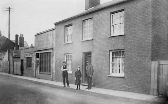 Boulton Boot & Shoe makers, South Park Street, Chatteris. Donated by Roger Boulton