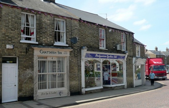 Chattafish Spa & Sunbed, High Street, Chatteris in one-time Tattoo parlour.