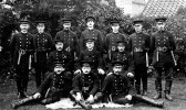 Group photograph of Chatteris fire brigade.
