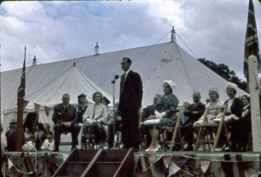 Chatteris Trade Fair, held on ground behind Manor House. Photo suplied by Mr E J Tilley.
