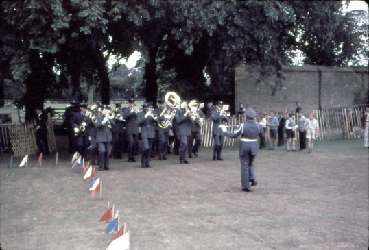 Chatteris Trade Fair. Marching Band performing at event.Photo by Mr E J Tilley.