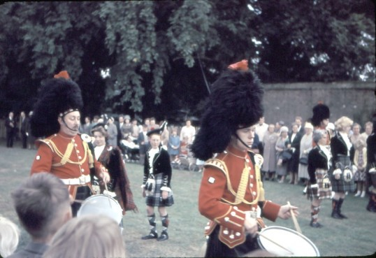 Chatteris Trade Fair. Marching Band in arena.Photo by Mr E J Tilley