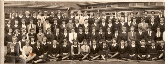 Cromwell County Secondary Girls' School, Chatteris. 1957.  1 of 3 photographs supplied by Mr Jim Aston.