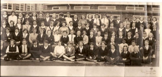 Cromwell County Secondary Girls' School, Chatteris. 1957.3 of 3 photographs supplied by Mr Jim Aston.