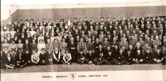 Cromwell Secondary School, Chatteris.1959. 2 of 3 photographs supplied by Mr Jim Aston.