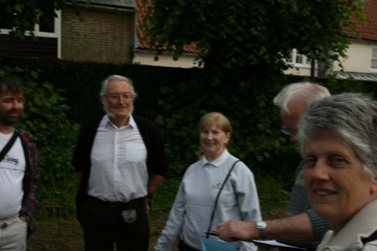 Chatteris Community Archive, meets for practice Town walk, at Saint Peter & Saint Paul church .3 of 4 Photographs