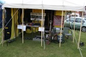 """"""" GET YOUR CANNONBALLS HERE"""" at the Medieval Festival, Furrowfields Park, Chatteris"""