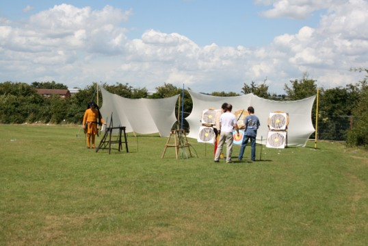 Archers Recruitment Centre, Chatteris Medieval Festival, Furrowfieilds Park, Chatteris.