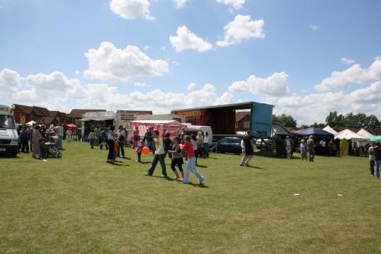 Chatteris Medieval Festival, Furrowfields Park, Chatteris.