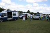 The local Constabulary, at Chatteris Medieval Festival, Furrowfields Park, Chatteris.
