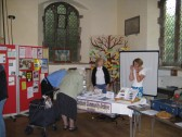 Chatteris Community Archive Stall, at Community Fair, Saint Peters & Saint Pauls Church, Chatteris.