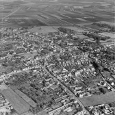 Chatteris photographed from aircraft.With thanks to the Aerofilm Collection.