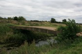 Disused Bridge spanning the 20ft drain, can be seen along footpath from Honeysome Industrial Estate, Chatteris, walking North towards the 40ft drain.