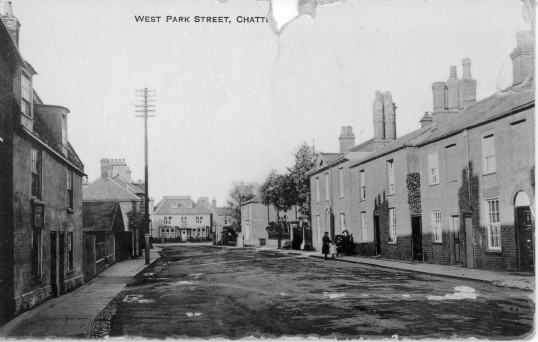 West Park Street, Chatteris.From the Alan Rickwood collection.