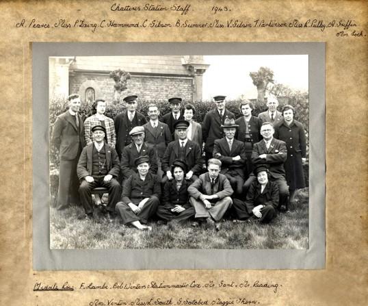 Chatteris Station Staff 1943