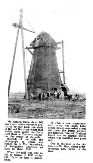 Beezling's Drainage Mill on the Forty Foot Drain, Chatteris.