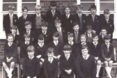 1967. Class 1 Clare. Cromwell Comprehensive School.Original photo by Mr. John Slack, maths teacher.Chatteris.