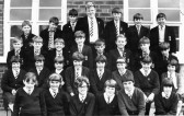 1967. Class 1 Selwyn. Cromwell Comprehensive School. Original photo taken by Mr. John Slack, maths teacher.Chatteris.
