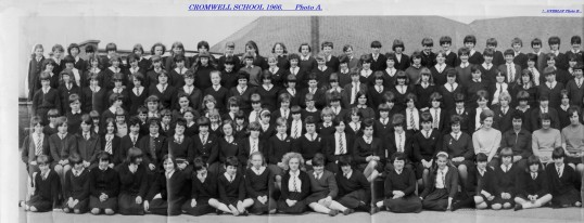 1966. Cromwell Secondary Modern School. Chatteris. Photo A.