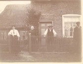 "Mabel, Ann & James ""Jim"" Bishop, farmer, of Bridge Street, Chatteris."
