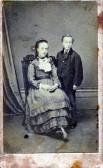 Emma & Tom Bishop, children of Thomas Bishop, Chapel Lane, Chatteris.