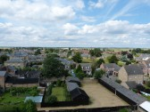 View from Parish Church Tower towards Chatteris House