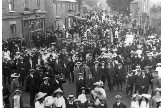 Hospital Sunday in Chatteris 1912