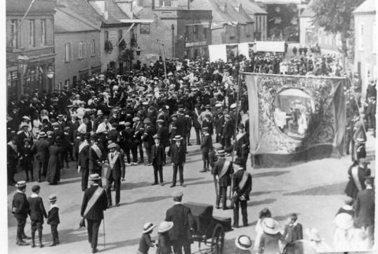 Hospital Sunday Parade in Market Hill, Chatteris