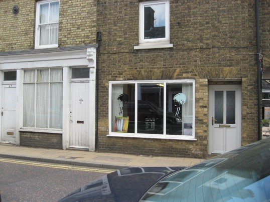 Hairdressers shop, High Street Chatteris