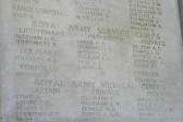 WW1 Soldier Henry Kenyon Bagshaw's Name on Tyne Cot Memorial