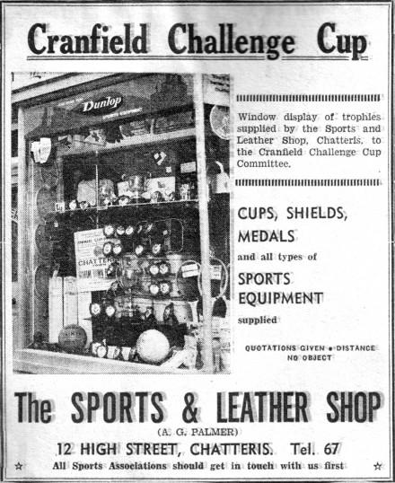 Sports & Leather Shop advertisement