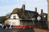 Renewing Thatched Roof to Old Boars Head, Chatteris.