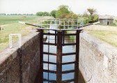 Fitting of new sluice gates on the Forty Foot Drain(2).
