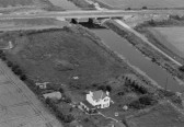 Aerial views of the site of Chatteris Dock Station from the Stuart Stacey Collection