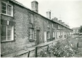 Southampton Place cottages, Chatteris. Photo  from the Stuart Stacey Collection